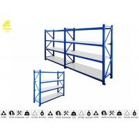 Stable Heavy Duty Warehouse Racking Shelving / Industrial Racks And Shelving 0.6mm Manufactures