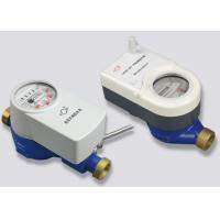 China Valve Control Wireless Remote Reading Water Meter With DN15 - DN25 Iron Housing on sale