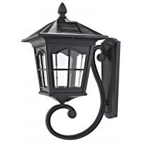 Low Voltage Outdoor Solar Wall Lights 4 Volt 2W Panel Power Brown Wall Lights Manufactures