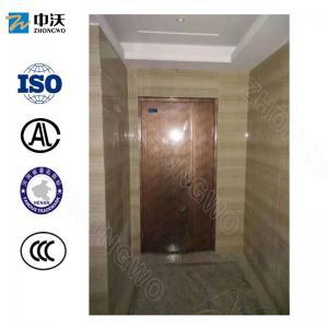 1.5/1/0.5 Hours Steel Panel Security Apartment Fire Door CCC Certification