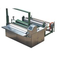 High Speed 50hz Non Woven Cutting Machine Color Touch Screen Parameter Manufactures