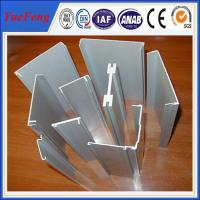 Aluminium U Channel With Bottom Price, Extruded profiles from china aluminum Manufactures
