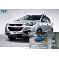 4 Channel Dvr Panoramic Car Rear View Monitor For Hyundai IX35. Bird View  Parking System Manufactures