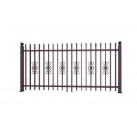 Buy cheap Metal Ornaments Prefabricated Metal Fence Panels For Garden Decoration from wholesalers