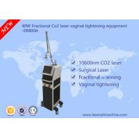 40w Co2 Fractional Laser Equipment / Commercial Vaginal Tightening Equipment Manufactures
