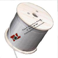 Stainless Steel Wire Rope 304 304L 316 316L A2 A4 1.4301 1.4401 7x7 1.8mm Manufactures