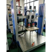 Quality CE Office Furniture Testing Machine Aluminum Frame , Electric lift Seat Impact for sale