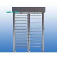 China RS485 Interface Full Height Turnstile Gate 90 Degree Rotation Shock Proof on sale
