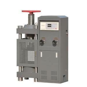 China Class 1 Hydraulic Compression Test Equipment , Compression Testing Machine on sale