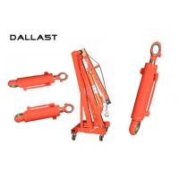 Hoist Mechanism Tie Rod Chromed Hydraulic Lift Cylinder Double Acting Manufactures