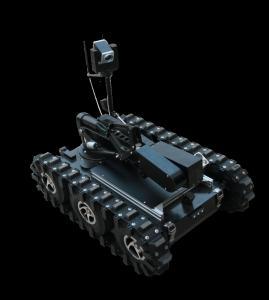 Explosive Ordnance Disposal Equipment Eod Robot Aircraft Grade Aluminum Alloy Body Manufactures