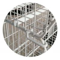 China Wire Mesh Storage Cages Steel Q235 Material on sale