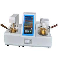 Automatic oil petroleum testing equipment cleveland open cup flash point analyzer Manufactures