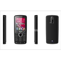 China 500mAh Black bar cell phone 2.8 Inch with Dual SIM and 8W Camera on sale