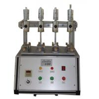 Stable Rubber Testing Machine , Rubber / Leather Fabric Color Shedding Level Tester Manufactures