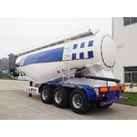 48CBM Bulker Cement Truck With Air Compressor And Diesel Engine Manufactures