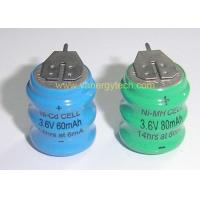 Ni-CD Button Cell (3.6V 60mAh) Manufactures