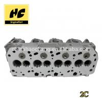 China Engine cylinder head used for 2C/2C-TE 11101 64122 / 64080 on sale