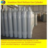 Buy cheap 50L steel high pressure helium gas cylinder filled helium gas from wholesalers