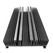 Heat Sinks For Decorations , Extruded Aluminum Heatsink AL6000 Anodized Electrophoresis Manufactures
