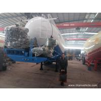 China 30-35 tons Dry Bulk Cement Powder Tanker Semi Trailer With Engine - TITAN VEHICLE on sale