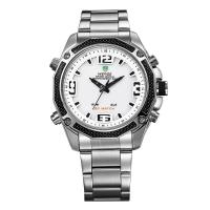 WH-2306white waterproof watch,quartz watch, steel band watch Manufactures