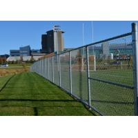 Hot Dipped Galvanized Link Chain Fence Low Carbon Steel Wire With High Secure Manufactures