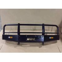 Off Road Accessories Winch Bull Bar LC 76 Front Bumper 4x4 For Toyota Land Cruiser Manufactures