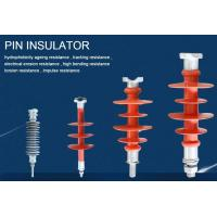 100-140kv High Voltage Insulator  Polymer silicone rubber  Composite   pins Insulators Manufactures