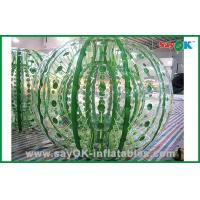 Customized Giant Durable Inflatable Zorbing Ball For Hamster Ball Game 2.3x1.6m Manufactures