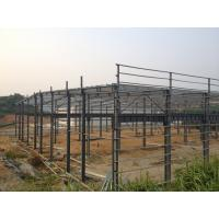 Quality Prefabricated Steel Structure Warehouse , Light Gauge Industrial Steel Structures for sale