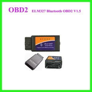 ELM327 Interface Bluetooth OBD2 Auto Scanner V1.5 OBDII OBD 2 II car diagnostic Manufactures
