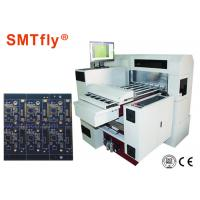 0.4 Mm - 3.2 Mm  V Grooving Machine For Pcb Panel ±0.05mm Pitch SMTfly-YB630 Manufactures