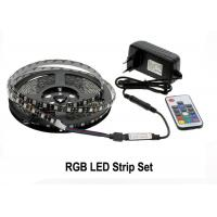 China RGB LED Strip Light Kit 5050 DC12V 5m 300 LEDs Fleixble 17Keys RF Controller on sale