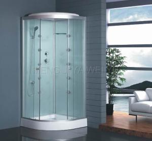 European Design Tempered Glass Shower Room (MJY-8064) Manufactures