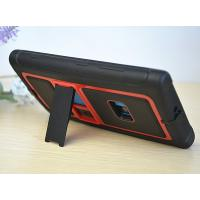 OEM / ODM Red Skidproof TPU + PC Nokia Protective Case, Cell Phone Case For Lumia 920 With Stand Manufactures