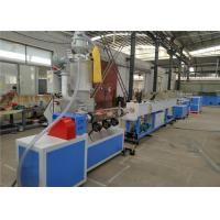 PP PE PPR Plastic Water Pipe Extrusion Process , Plastic Production Line Manufactures