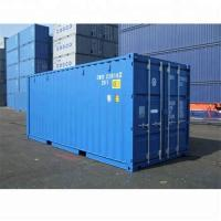 New Condition ISO Certified Corten-A 40ft HC Shipping Container Optional Color Manufactures