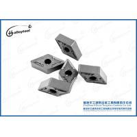 Face Mining Tungsten Carbide Tool Inserts YG6X Semi - Finishing DNMG Inserts Manufactures