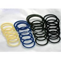 Yellow Blue Hydraulic Cylinder Rod Seals Excavator Hydraulic Cylinder Seal Kits Manufactures