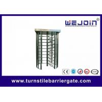 80W Security Entrance Gate Full Height Turnstile pedestrian barrier Manufactures