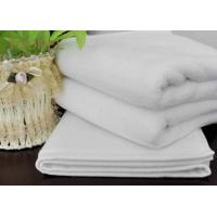 China Weft Knitting Home Kitchen Hotel Hand Towels Durable White Cleaning Towels on sale