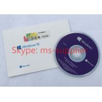 French Language Windows 10 Professional OEM French DVD 64 Bit Version With COA Sticker Manufactures