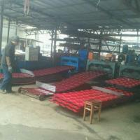 5 Waves Glazed Panel Making Machine For Country House In Chile Village Manufactures