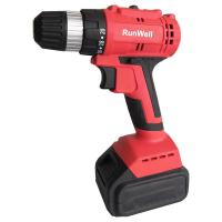 Strong Torque Small Powerful Cordless Drill Battery Powered Drill 10mm For Steel Manufactures