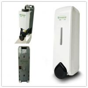 China 350ML wall mounted  liquid soap dispenser /plastic shampoo soap dispenser YK1081 on sale