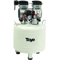Silent Oilless Portable Dental Air compressor 850W work for 2 dental chairs Manufactures