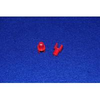 High Temperature Resistance Red Steatite Glazing Ceramic Part With Smooth Surface Manufactures