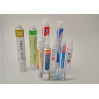 Colorful Packaging Aluminum Collapsible Tubes for Hand Cream / BB Cream / Toothpaste for sale