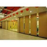 Training Room Sound Deadening Panels ,  Folding Office Partition Door 65mm Manufactures